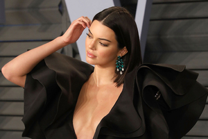 Kendall Jenner In Vanity Fair 2018 Party
