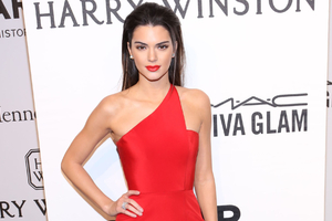 Kendall Jenner Red Dress