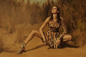 Kendall Jenner Roberto Cavalli Photoshoot Wallpaper