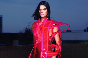 Kendall Jenner Vogue Us 2018 Wallpaper