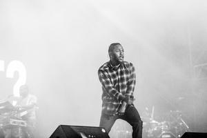 Kendrick Lamar Monochrome Wallpaper