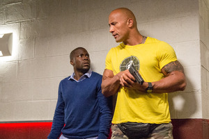Kevin Hart And Dwayne Johnson Central Intelligence