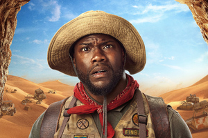 Kevin Hart Jumanji The Next Level Wallpaper