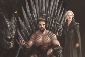 Khal Drago Daenerys Targayen