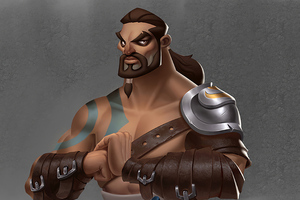 Khal Drogo 3d Art Wallpaper
