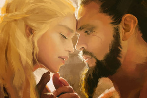 Khal Drogo And Daenerys Love