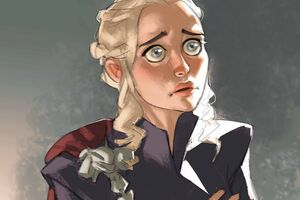 Khaleesi 4k Artwork