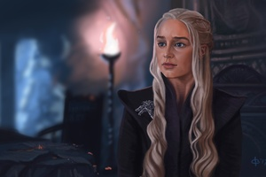 Khaleesi Game Of Thrones 5k Artwork Wallpaper