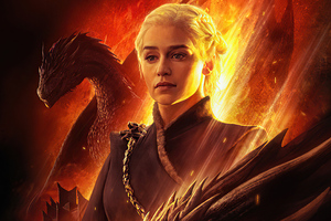 Khaleesi Game Of Thrones 5k Wallpaper