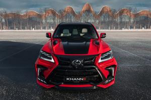 Khann Lexus LX 570 HRS Sport 8k Wallpaper