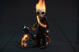 Kid Ghost Rider Wallpaper