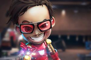 Kid Iron Man 4k Wallpaper