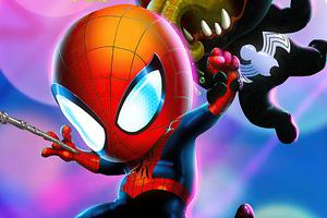 Kid Spider Man