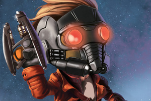 Kid Star Lord Art