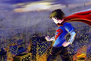 Kid Superman 4k