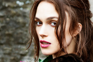 Kiera Knightly Harpers Bazaar Wallpaper