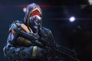 Killzone Shadow Fall Helghast Terrorist 4k