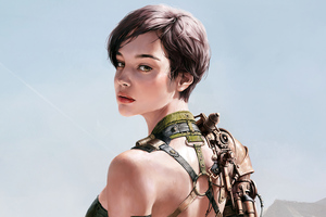Kim Cyber Girl 4k Wallpaper