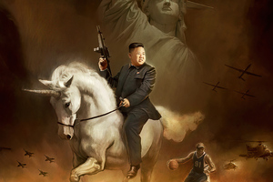 Kim Jong Wallpaper
