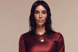 Kim Kardashian Vogue 2019 Wallpaper
