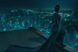Kim X Batgirl Met Gala Wallpaper
