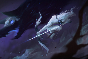 Kindred Warrior Girl 4k Wallpaper