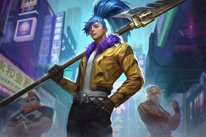 King Glory Hanshin Street Fighter Wallpaper