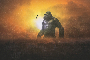 King Kong 4k Wallpaper