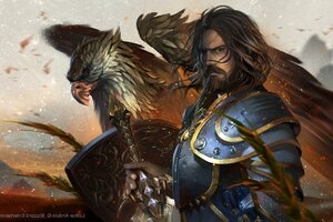 King Llane Wrynn Warcraft