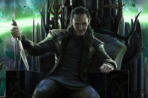 King Loki God Of Mischief Wallpaper