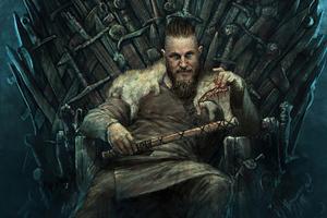 King Ragnar 4k Wallpaper