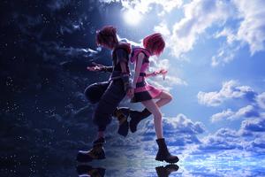 Kingdom Hearts 3 Sora And Kaira 4k