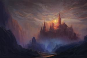 Kings Castle Painting