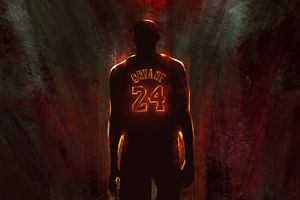 Kobe Bryant 2020 Artwork Wallpaper