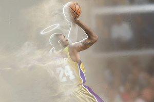 Kobe Bryant Fan Art Wallpaper