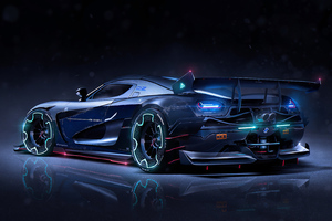 Koenigsegg Custom 4k Wallpaper