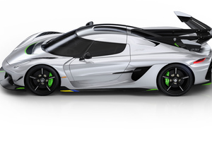 Koenigsegg Jesko 2019 Side View Wallpaper