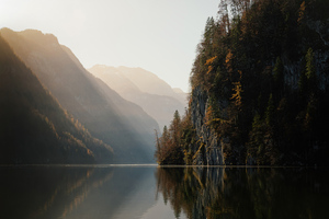 Koenigssee Lake In Germany 5k Wallpaper