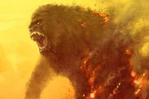 Kong Skull Island Movie 4k Wallpaper