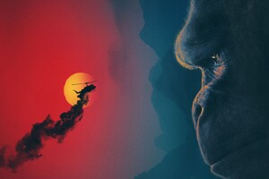 Kong Skull Island Movie Wallpaper