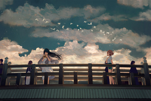 Kousaka Reina Oumae Kumiko Anime Girls 4k