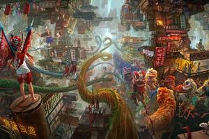 Kowloon City Story 8k