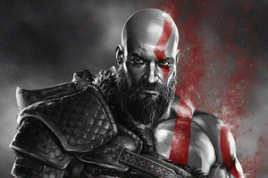 Kratos 4k New Wallpaper