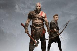 Kratos And Atreus 4k Wallpaper