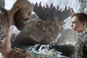 Kratos And Atreus God Of War 4 4k Wallpaper