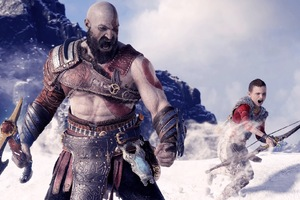 Kratos And Atreus God Of War Wallpaper