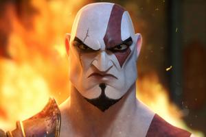 Kratos Angry 4k