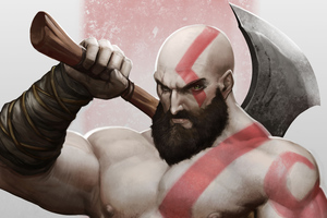 Kratos Arts Wallpaper