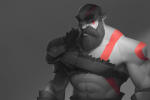 Kratos Artwork Wallpaper