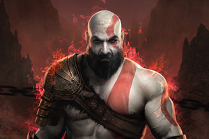 Kratos God Of War 4 2020 4k